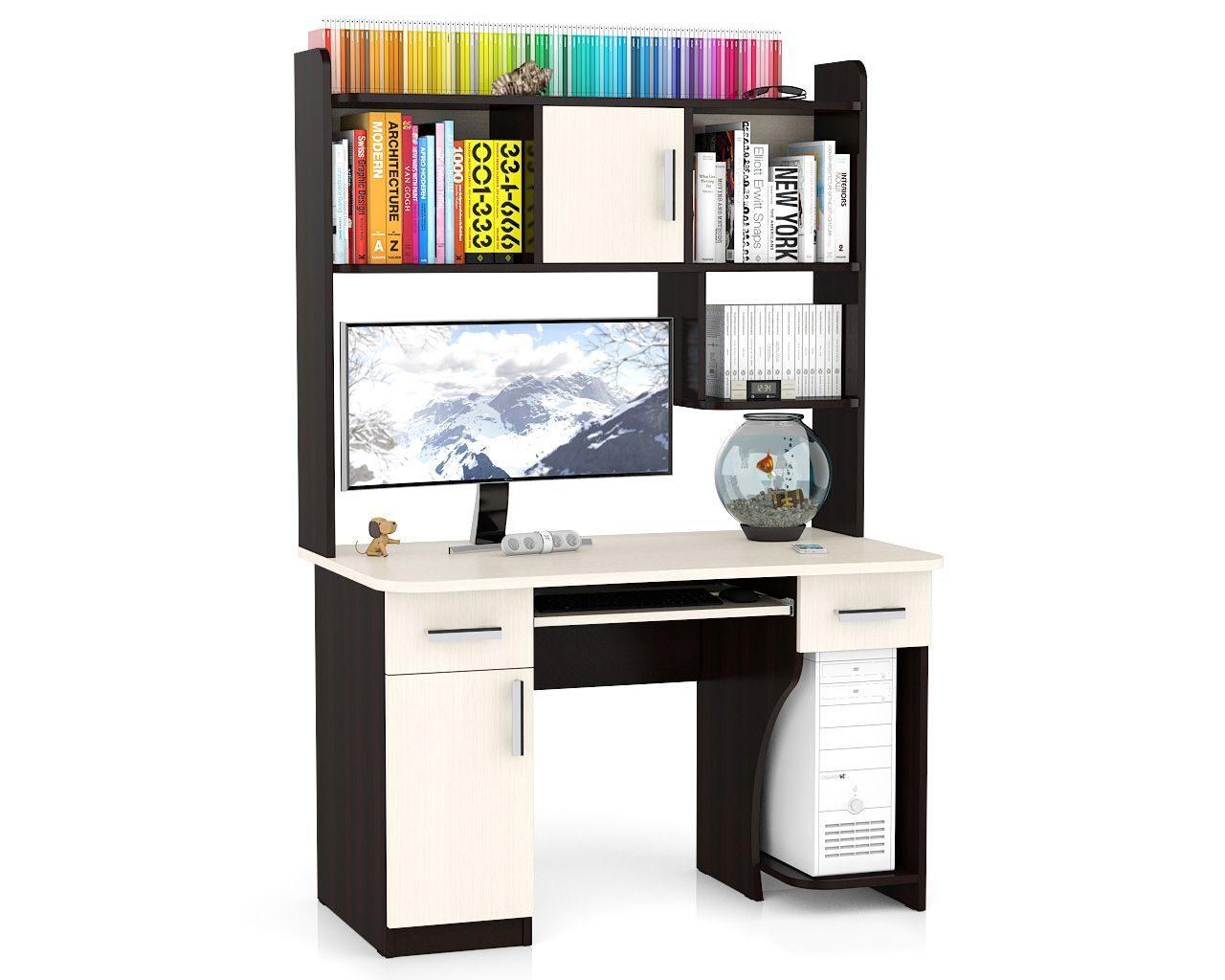 Компьютерный стол мебельный двор - компьютерные и письменные.